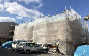 2019.1.17(木)岡山市北区某コーポ様 外壁・屋根塗装工事