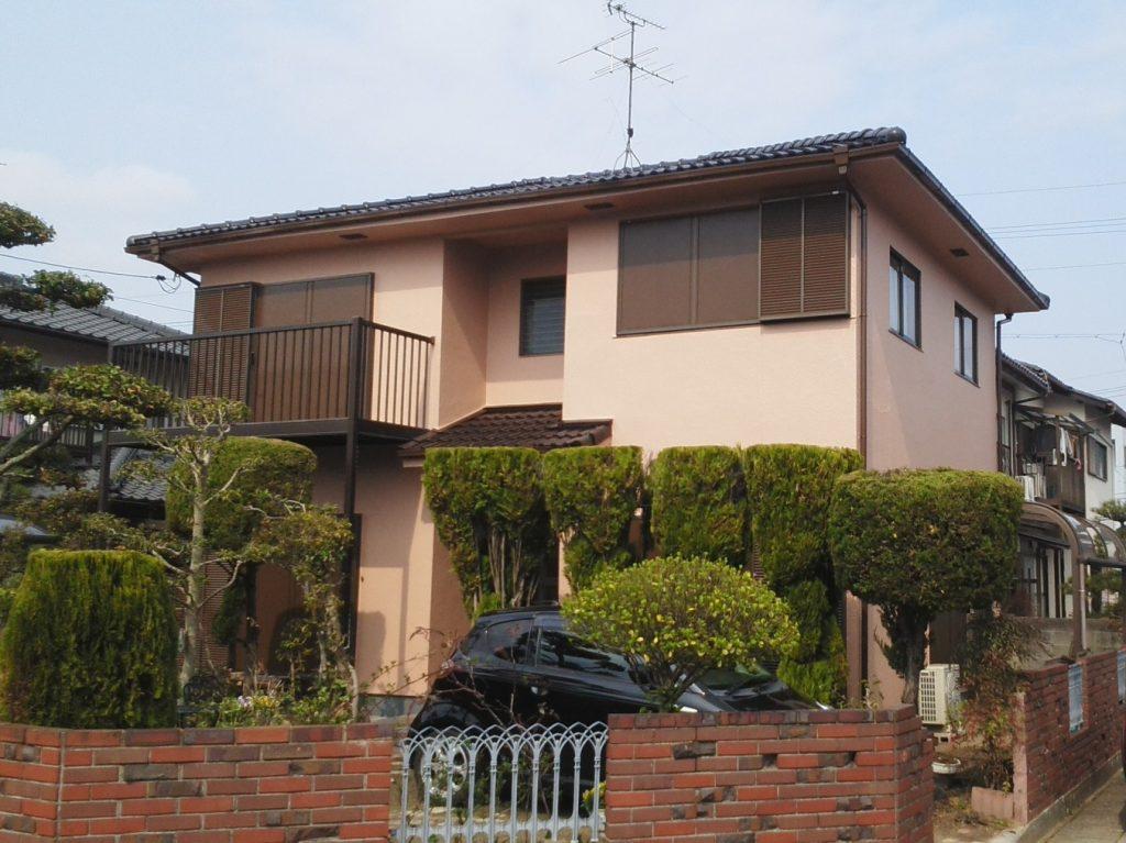 岡山市南区T様邸 屋根・外壁塗装工事 施工完了後