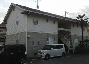 岡山市北区某コーポB棟 施工前