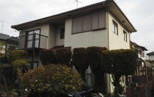 岡山市南区T様邸 屋根・外壁塗装工事 施工前