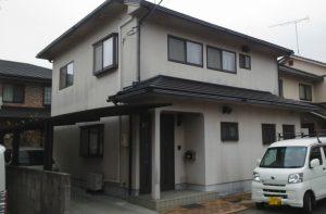 岡山市北区T様邸 外壁塗装工事 施工前