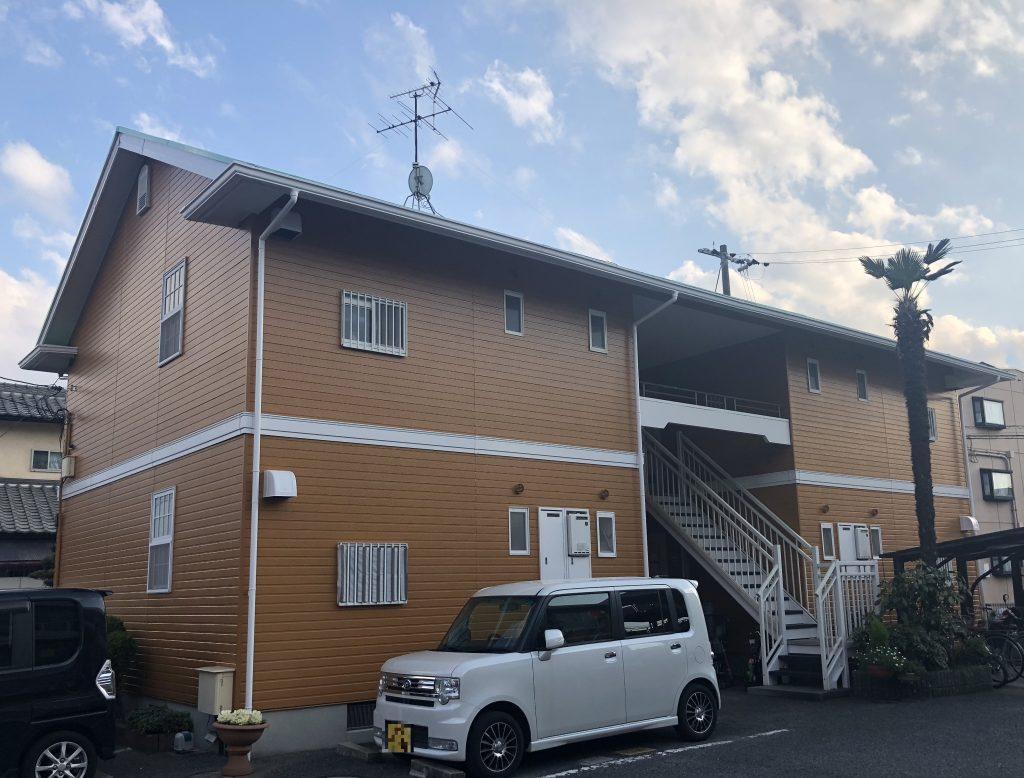 岡山市北区某コーポB棟 施工完了後
