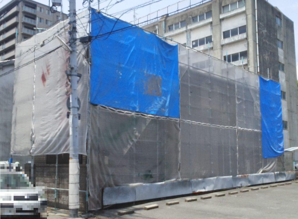 2019.6.3(月)岡山市北区O様邸 屋根・外壁塗装工事着工