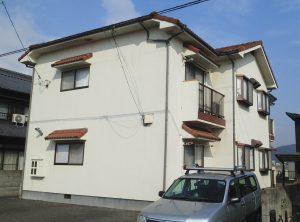 岡山市東区某コーポ 屋根・外壁塗装工事 施工前
