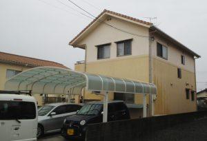 岡山市南区K様邸外壁塗装工事 施工前