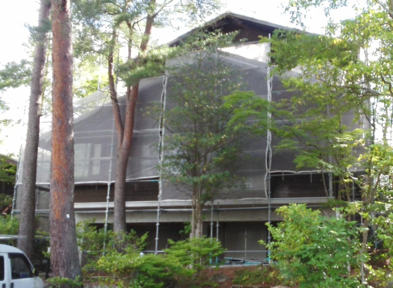 2019.6.12(水)岡山市北区外壁塗装工事着工