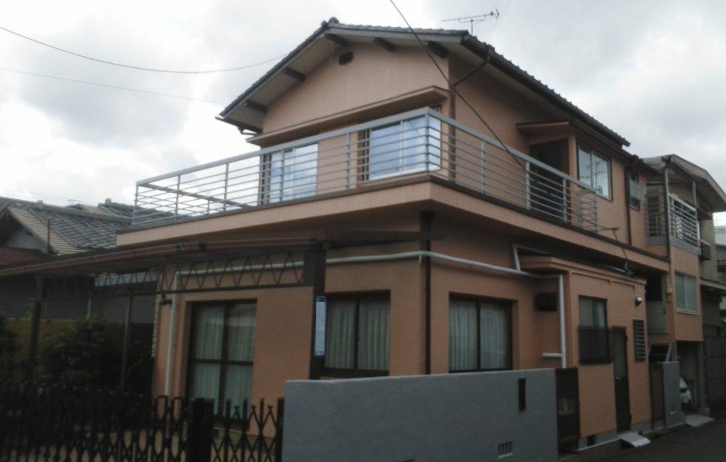 2019.8.6(火) 岡山市北区M様邸 外壁塗装工事施工完了後