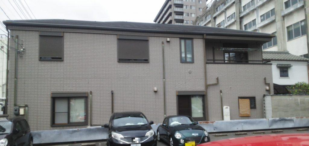 岡山市北区O様邸 屋根外壁塗装 施工前