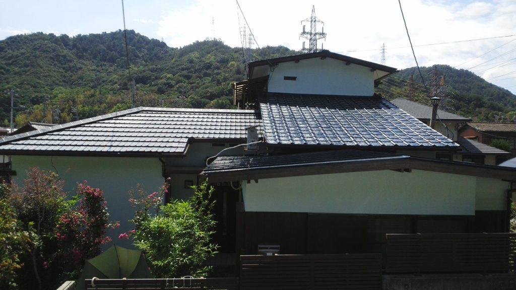 2019.9.6(金)玉野市O様邸屋根、外壁塗装施工完了後