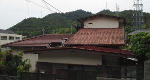 2019.9.6(金)玉野市O様邸屋根、外壁塗装施工前