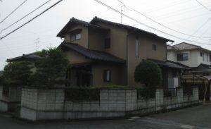 2019.9.13(金)岡山市北区F様邸 屋根、外壁塗装施工前