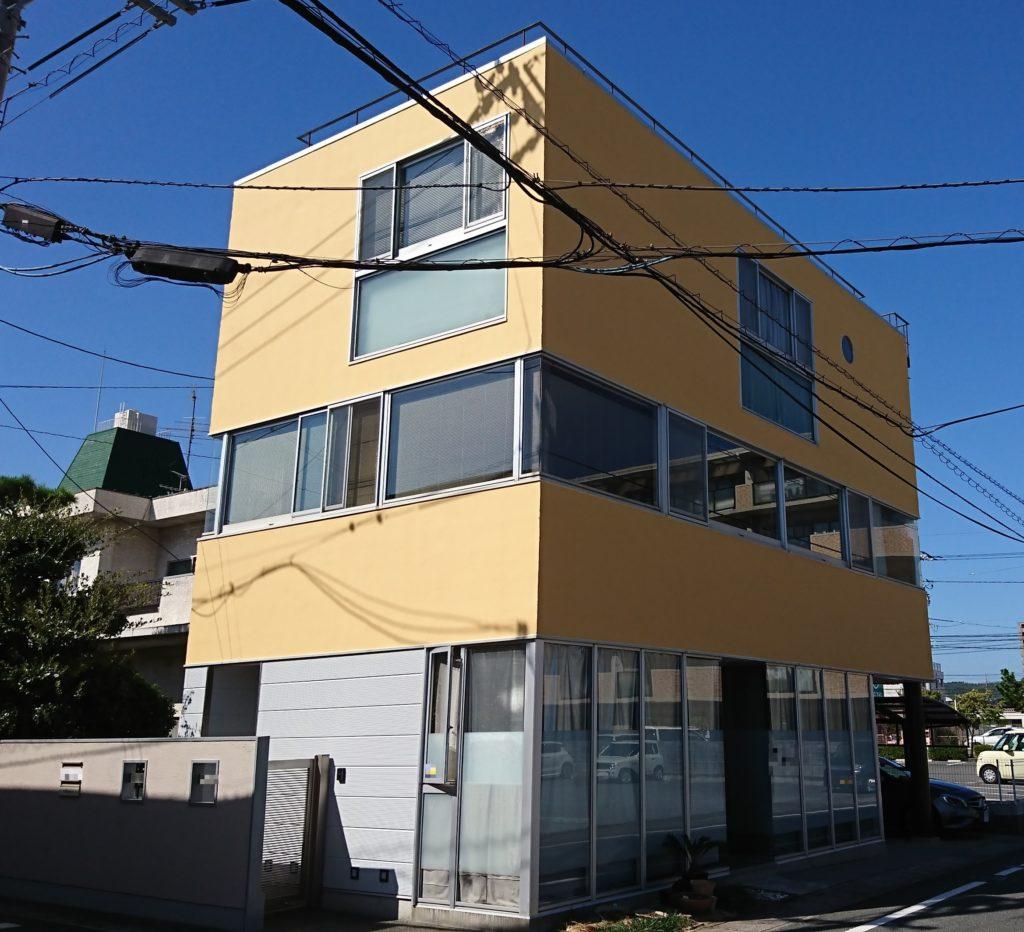 2019.10.4(金)岡山市北区H様邸 防水工事、外壁塗装工事施工完了後