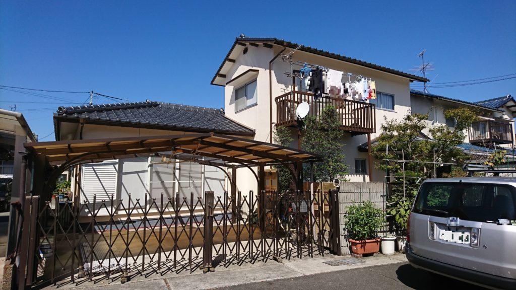 2019.10.8(火)岡山市中区T様邸 屋根、外壁塗装施工完了後