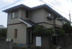 2019.10.15(火)岡山市中区M様邸 屋根・外壁塗装施工前