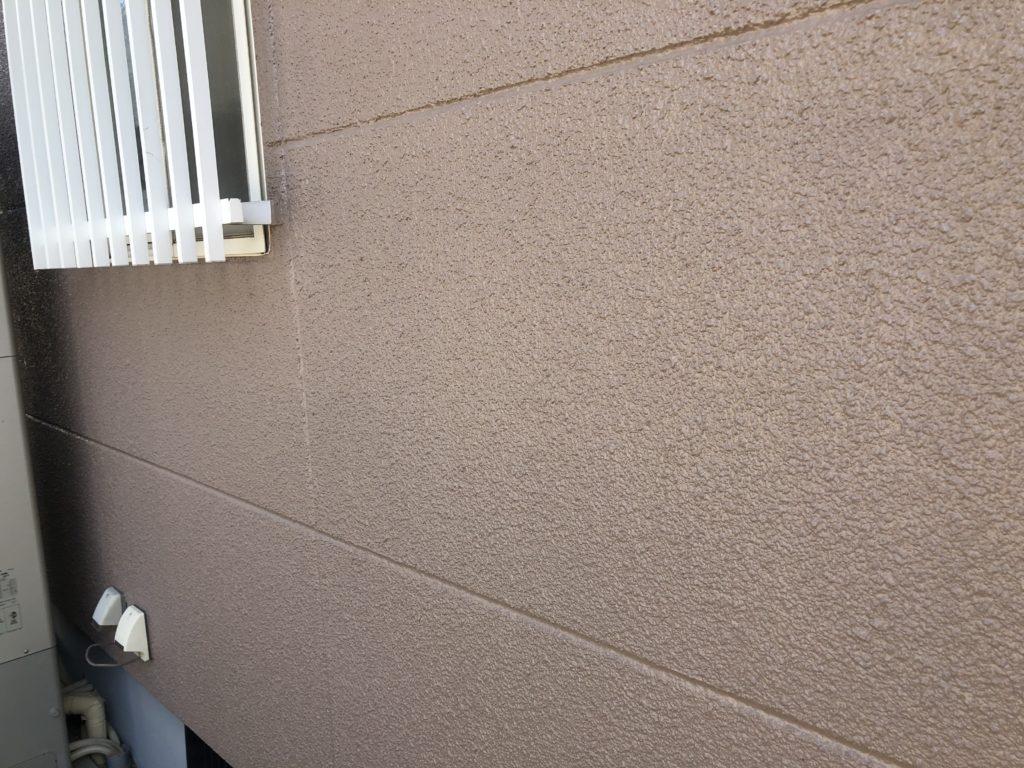 瀬戸内市K様邸 屋根塗装 外壁塗装施工完了 外壁アップ画像