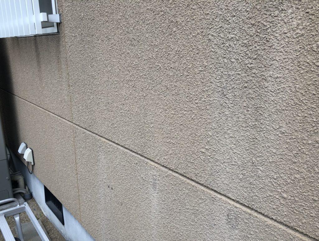 瀬戸内市K様邸 屋根塗装 外壁塗装施工前 外壁アップ画像