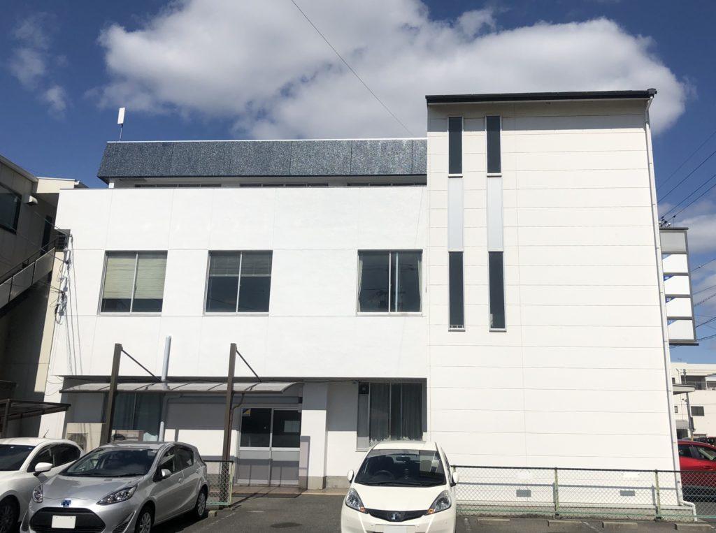 岡山市北区某ビル 屋根外壁塗装 施工完了後