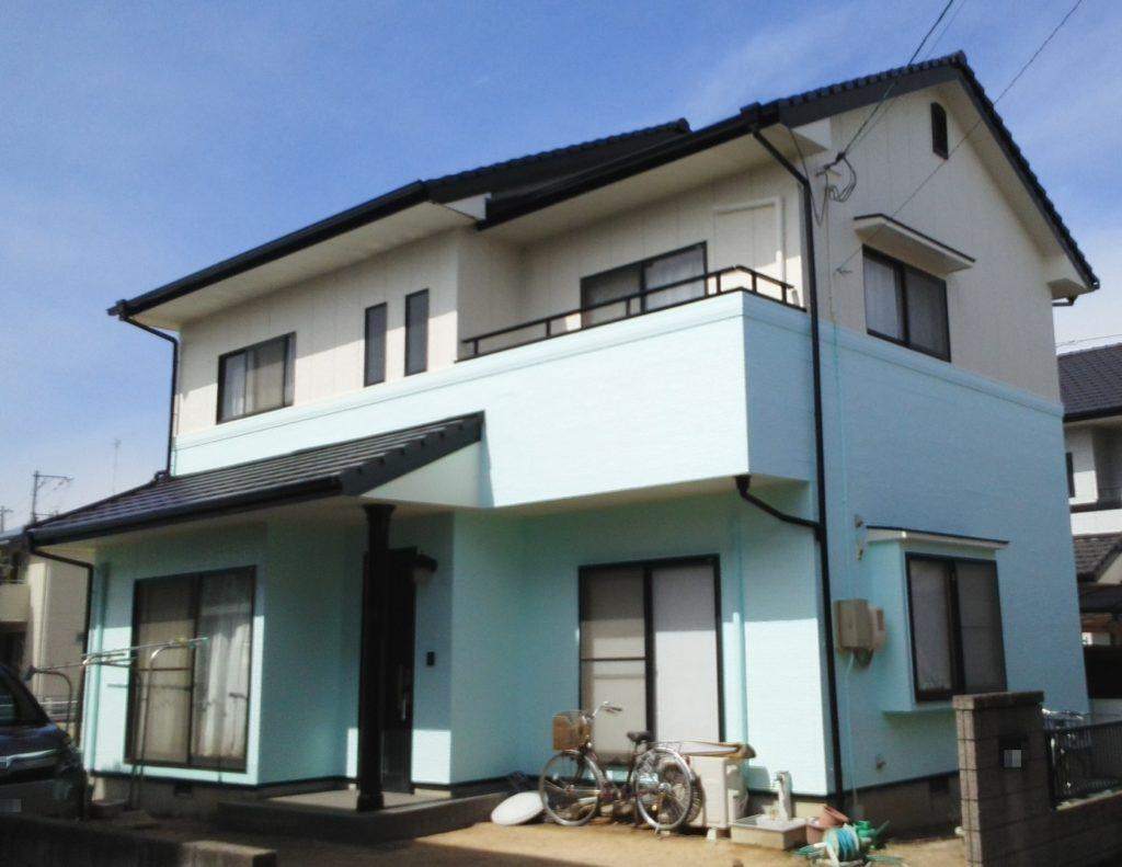 倉敷市N様邸 屋根塗装 外壁塗装 施工完了後