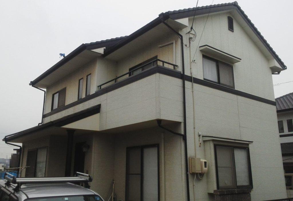 倉敷市N様邸 屋根塗装 外壁塗装 施工前