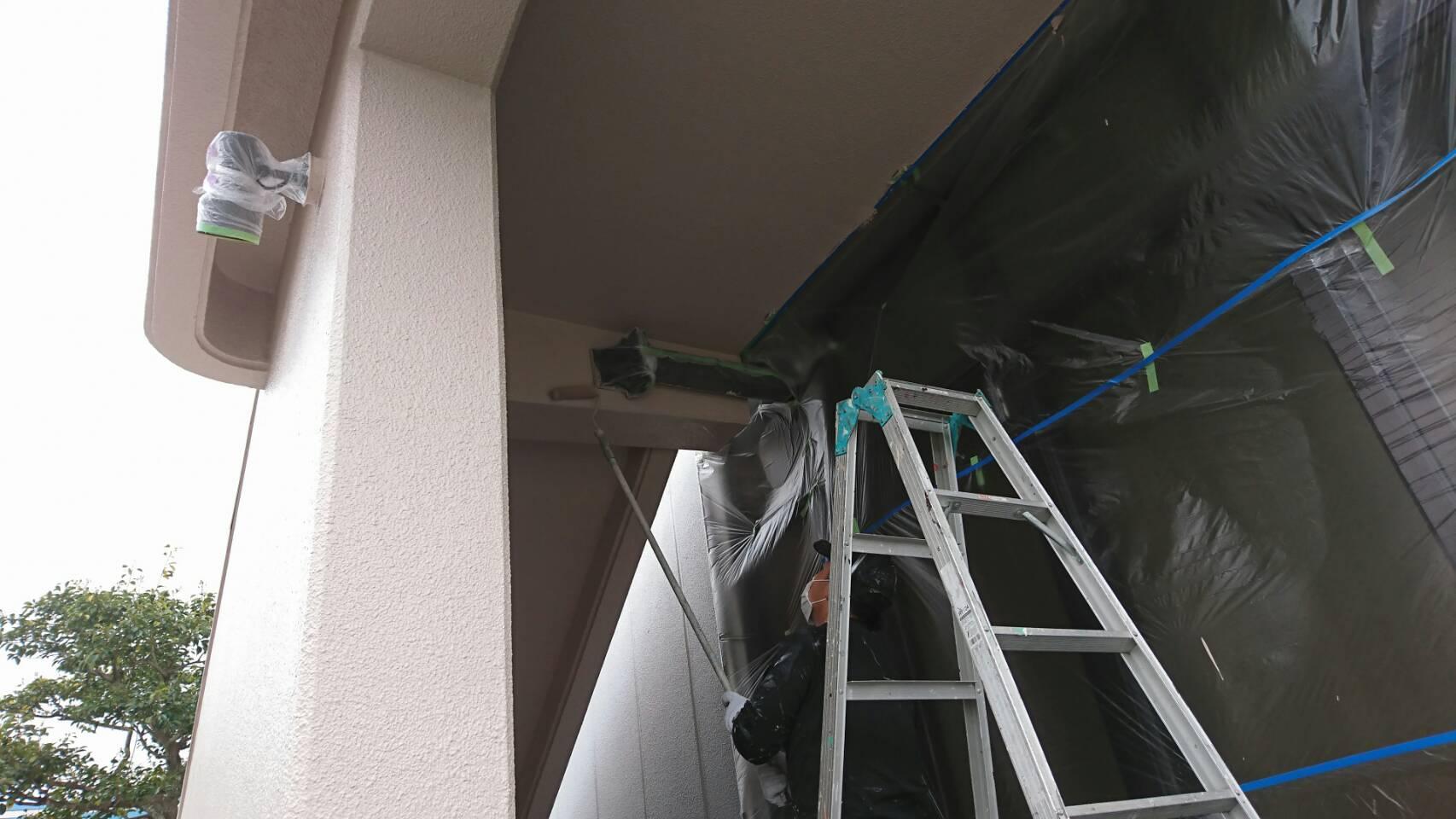 2020.04.23(木)岡山市南区某企業様 外壁塗装1