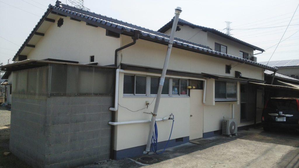 倉敷市O様邸 屋根葺き替え工事 外壁塗装工事施工完了後
