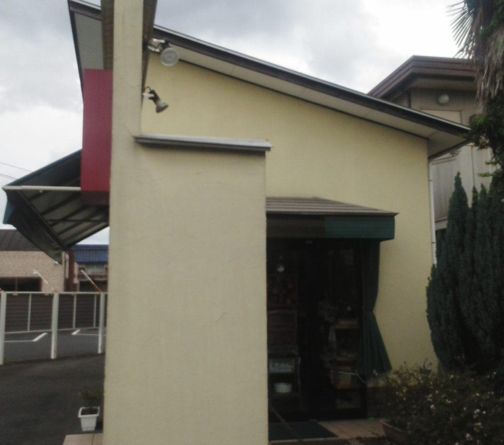 岡山市北区パティスリージュナ 外壁塗装 施工前