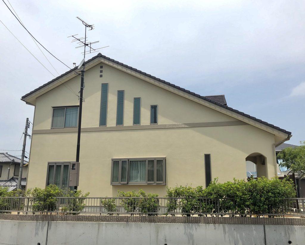 赤磐市M様邸 外壁塗装 施工完了後 1
