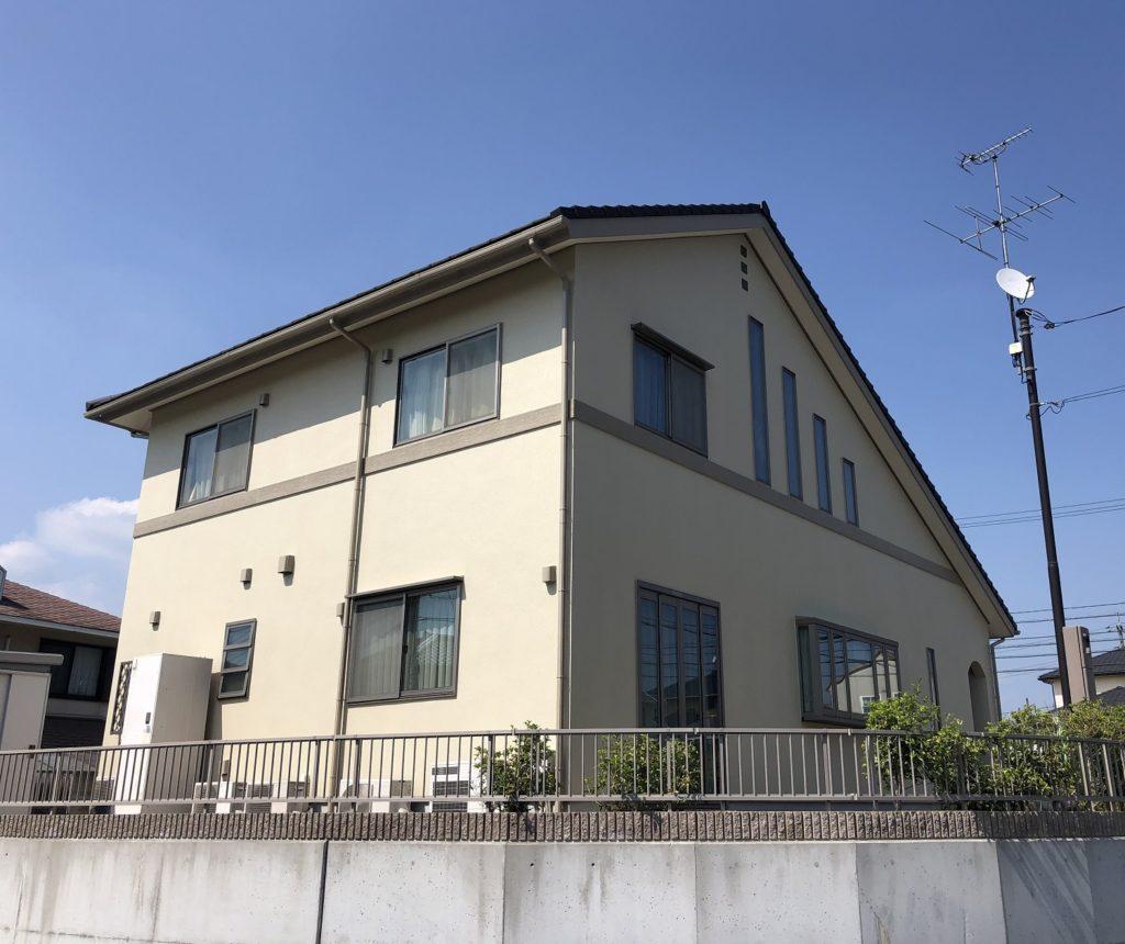 赤磐市M様邸 外壁塗装 施工完了後 2