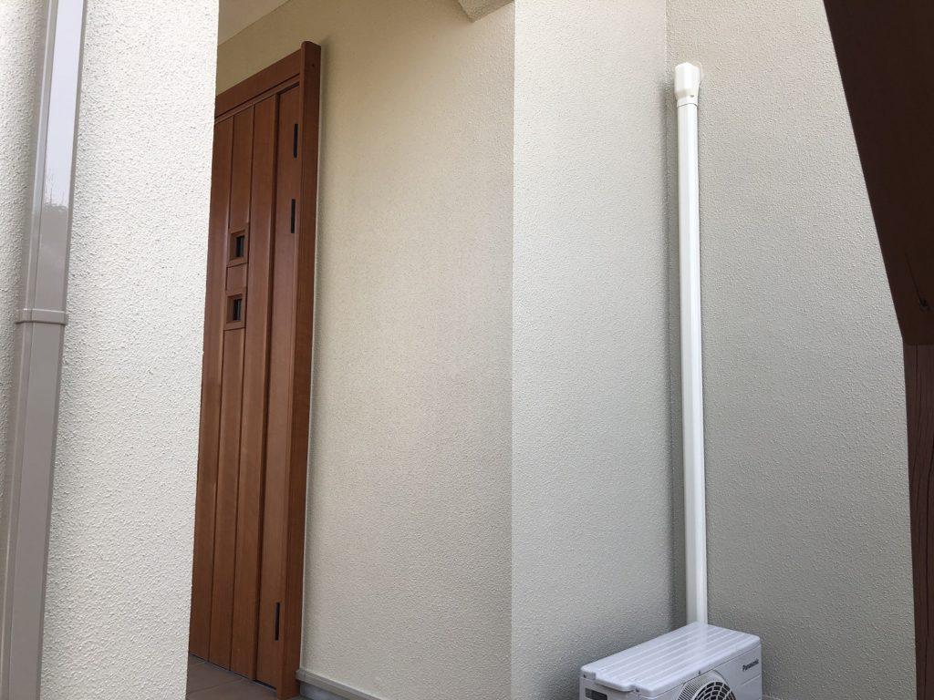 赤磐市M様邸 外壁塗装 施工完了後 外壁アップ