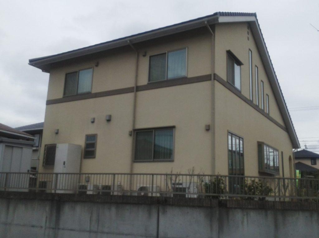 赤磐市M様邸 外壁塗装 施工前2